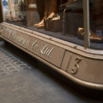 George Cleverley Shoe Shop Entrance in The Royal Arcade
